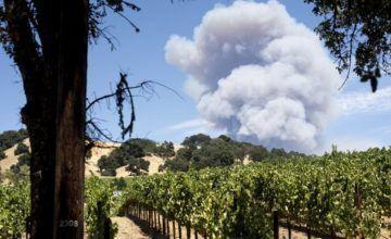 18.000 evacuados por incendios en norte de California