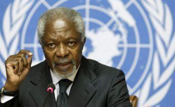 Muere exsecretario general de ONU Kofi Annan a los 80 años