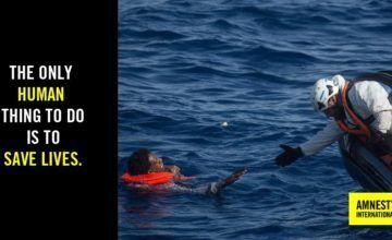"""Más de 721 muertes en el mar en dos meses por las políticas """"demoledoras"""" de la UE, según Amnistía Internacional"""
