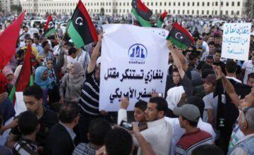 Choques entre milicias en capital de Libia dejan 26 muertos