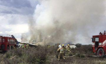 103 pasajeros sobreviven a un accidente de avión en México