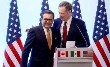 EE.UU. y México alcanzan acuerdo parcial sobre TLCAN