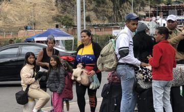 Venezolanos sin pasaporte ingresan a Perú como refugiados