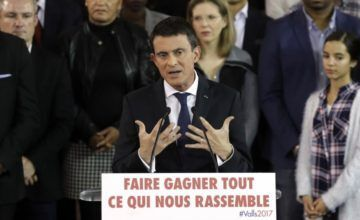 Manuel Valls, un hombre decidido, combativo y con las ideas claras, socialista apreciado por la derecha