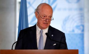 Enviado ONU prosigue contactos para lograr comité constitucional para Siria