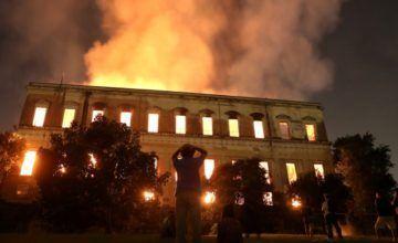 La historia del Museo Nacional de Río de Janeiro y las millones de piezas perdidas en el fuego