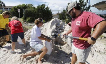 Millones se preparan para un potencialmente catastrófico huracán Florence