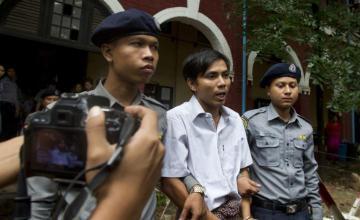 Prensa y activistas de Myanmar critican la condena a dos periodistas de Reuters