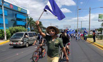 Autoconvocados se citan para nueva protesta contra Ortega en Nicaragua