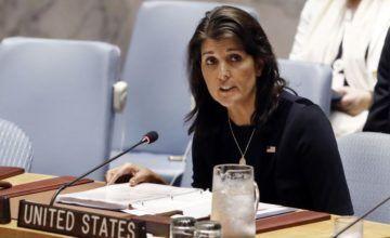 Embajadora de EEUU en la ONU rechaza afirmaciones de Irán sobre ataque a desfile