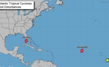 Se forma la tormenta tropical Gordon sobre los Cayos de Florida