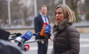 """Mogherini menciona Venezuela como una """"urgencia"""" de la diplomacia europea"""