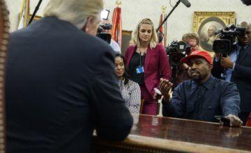 El show de Kanye West en el Despacho Oval que descolocó hasta al propio Trump