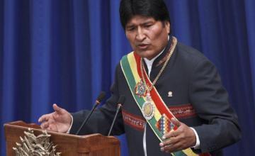 Miles de detractores de Evo Morales protestan en contra de su reelección