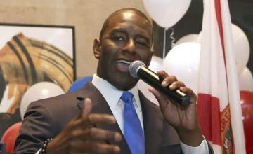 38 Alguaciles de la Florida exigen a Andrew Gillum que retire su compromiso contra policías