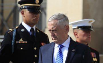 Mattis se reunirá con homólogo chino en medio de tensiones