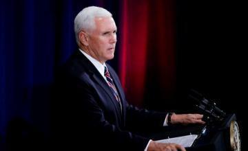 Mike Pence: el presidente hondureño me dijo que Venezuela financiaba una caravana de migrantes
