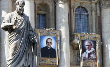 Embajada de El Salvador en Nicaragua celebra canonización de Romero