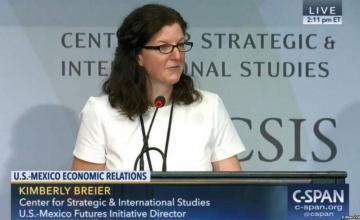 """""""Corruptos regímenes de Nicaragua y Venezuela"""", prioridades de Kimberly Breier"""