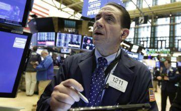Wall Street en alza al mediodía