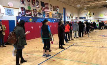 EEUU: funcionarios electorales, bajo escrutinio en votación