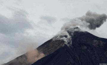 Miles de personas evacuadas por fuerte erupción volcán de Fuego Guatemala