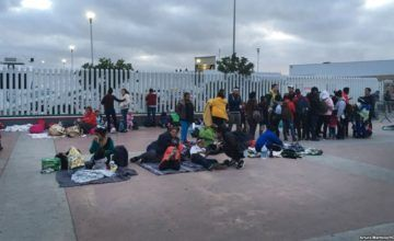 Primera ola de migrantes centroamericanos llega a Ciudad de México