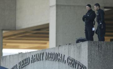 Reportan tiroteo en Hospital Militar Walter Reed