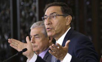 Casi ocho de cada 10 peruanos respaldan reformas de presidente Vizcarra en referendo