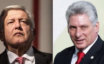 AMLO negocia con Díaz- Canel acuerdo para recibir a médicos cubanos que dejan Brasil