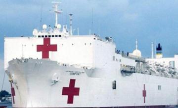 Buque hospital de EEUU acaba misión en Colombia tras atender 10.393 personas