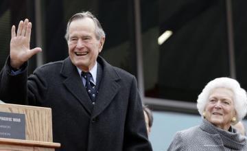 Fallece expresidente de EEUU George H.W. Bush a los 94 años
