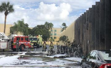 Dos muertos al estrellarse una avioneta al norte de Miami