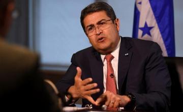 Presidente de Honduras se reúne con subsecretario de Defensa de EE.UU.