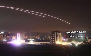 Las defensas aéreas de Siria repelen un posible ataque israelí cerca de Damasco