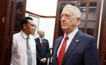Renuncia secretario de Defensa de EE.UU., Jim Mattis