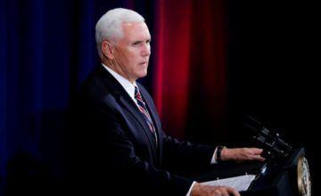 """Mike Pence: """"Nueva era de seguridad nacional en el espacio comienza hoy"""""""