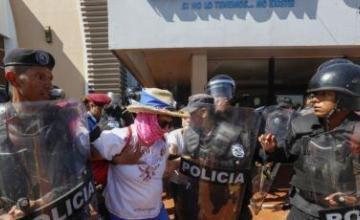 """La Policía de Nicaragua busca """"criminalizar"""" a los defensores de DDHH, según una ONG"""