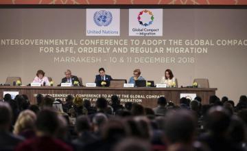 Nacionalistas europeos lanzan ofensiva contra el pacto de ONU sobre migraciones