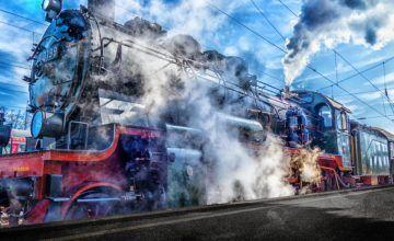 Dos heridos tras chocar un tren contra un auto en Fort Lauderdale