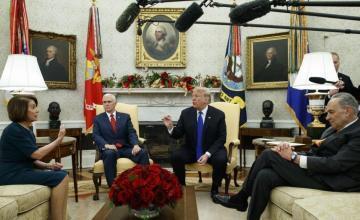 EE.UU.: Podría haber cierre parcial del gobierno por falta de acuerdo sobre el muro