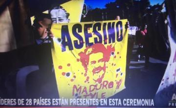 Nicolás Maduro llega a Palacio Nacional mexicano