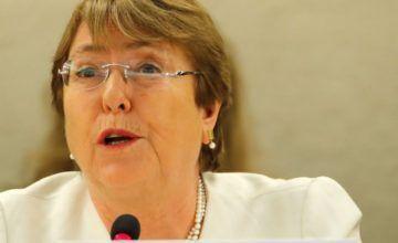"""Bachelet sobre Venezuela: """"Temo que la situación pueda salirse de control"""""""