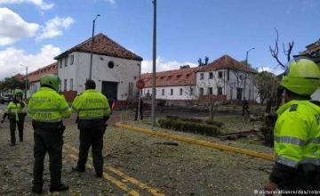 Autoridades colombianas atribuyen explosión a ELN. Dejó 21 muertos.