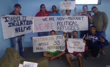 Caimán confirma que cubanos están en huelga de hambre