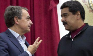 """Zapatero: """"En Venezuela puede desatarse grave conflicto civil"""""""