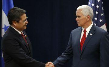 EE.UU. y Honduras discuten sobre caravanas y detener inmigración ilegal