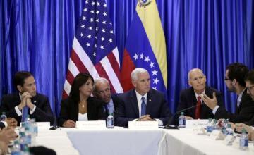Venezuela: Pence buscará apoyo en Miami para Guaidó