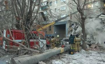 Siete muertos y decenas de desaparecidos en el derrumbe de un edificio en los Urales