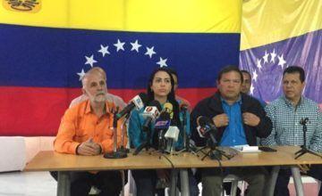 Líderes de oposición convocan a gran marcha nacional el próximo 23 de enero